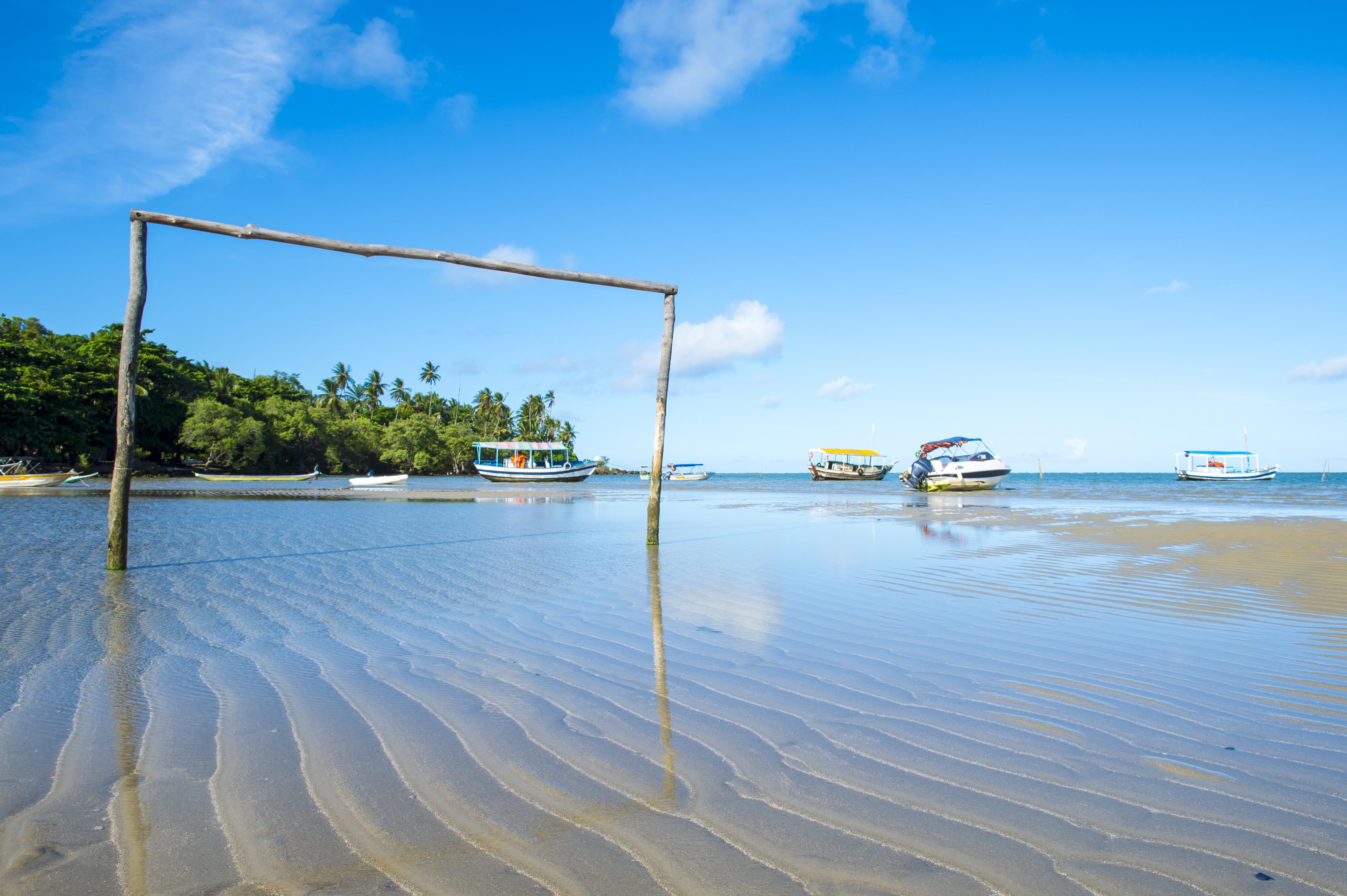 Praia do Moreré sur l´île de Boipeba