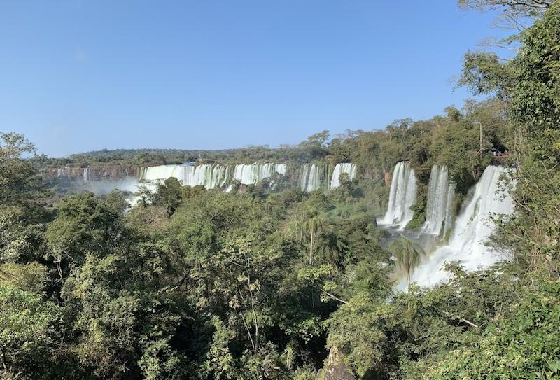 Chutes d'Iguazu au Brésil