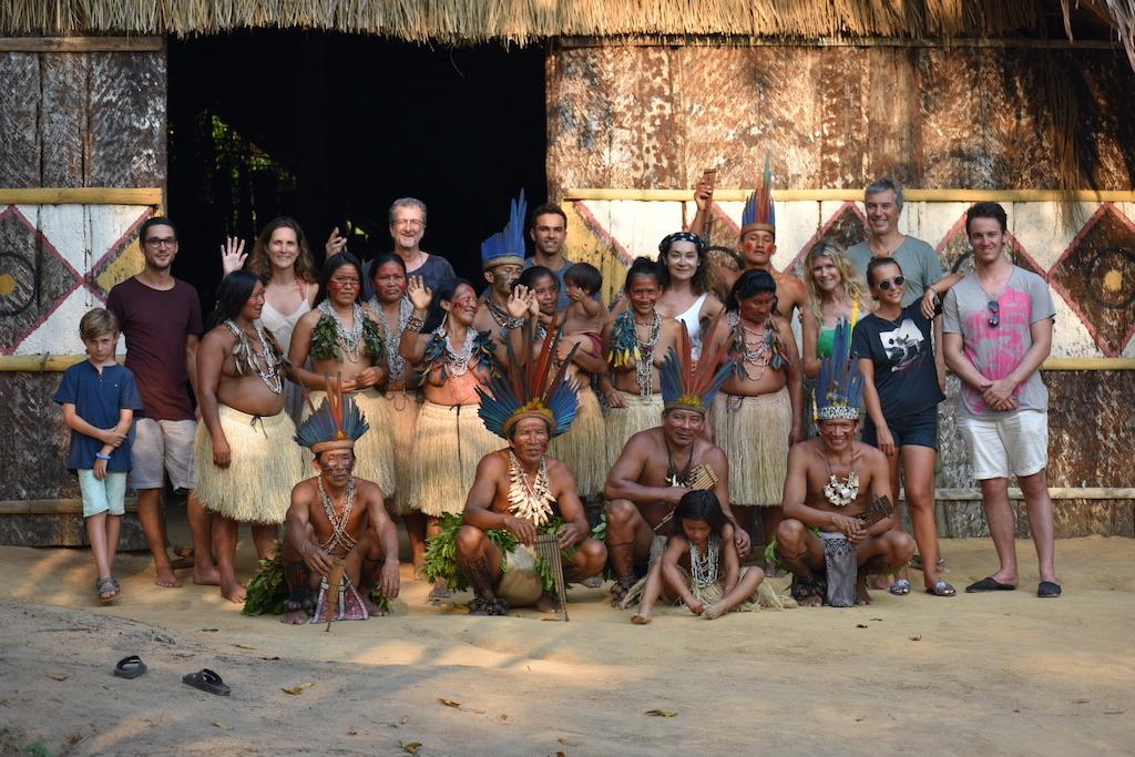 En Amazonie avec les indiens