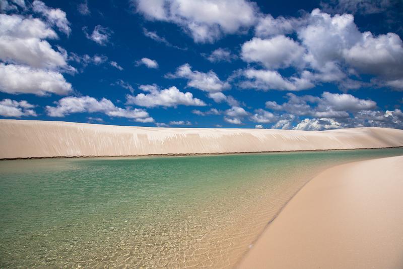 Dunes des Lençois au Brésil