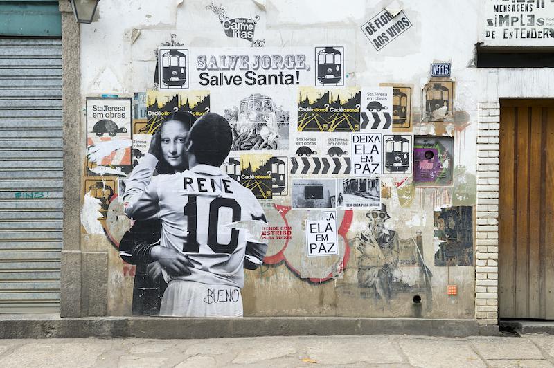 Quartier Santa Teresa à Rio