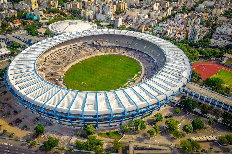 Visite du Maracana à Rio