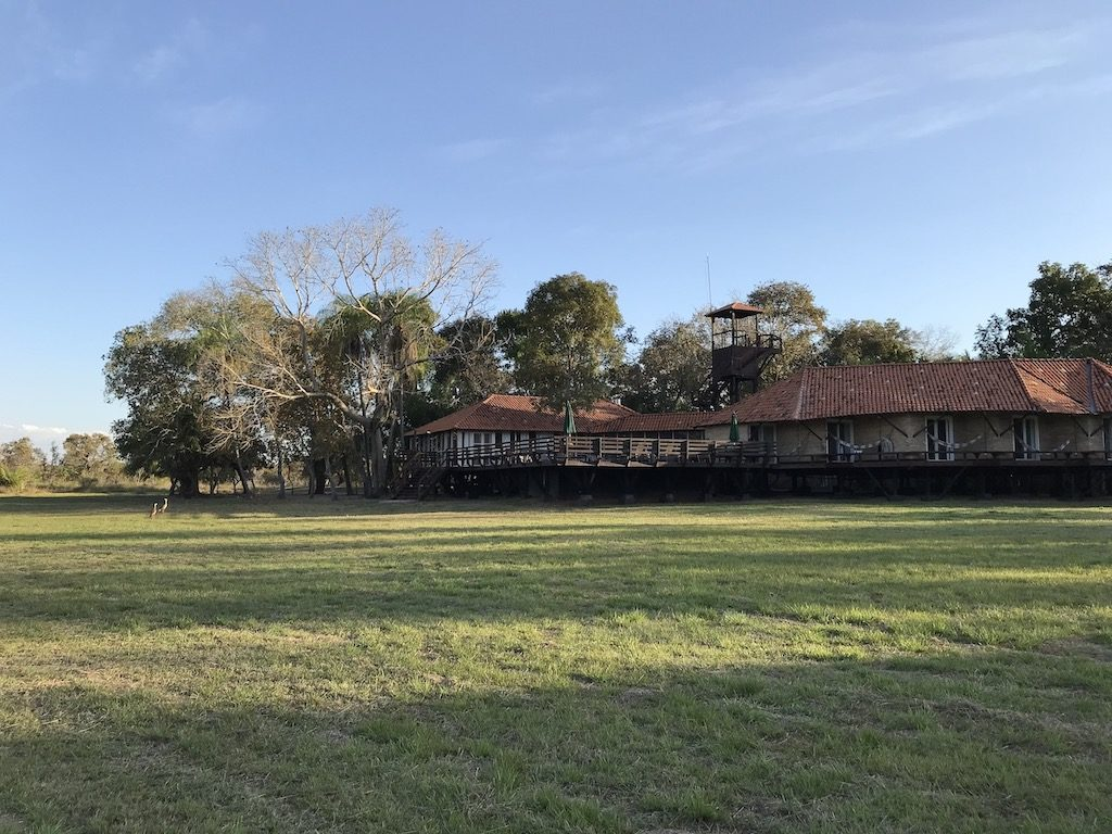 Lodge au Pantanal